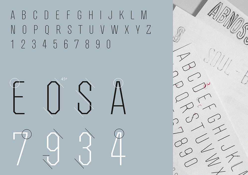 Soul Body_istd_typeface_typography