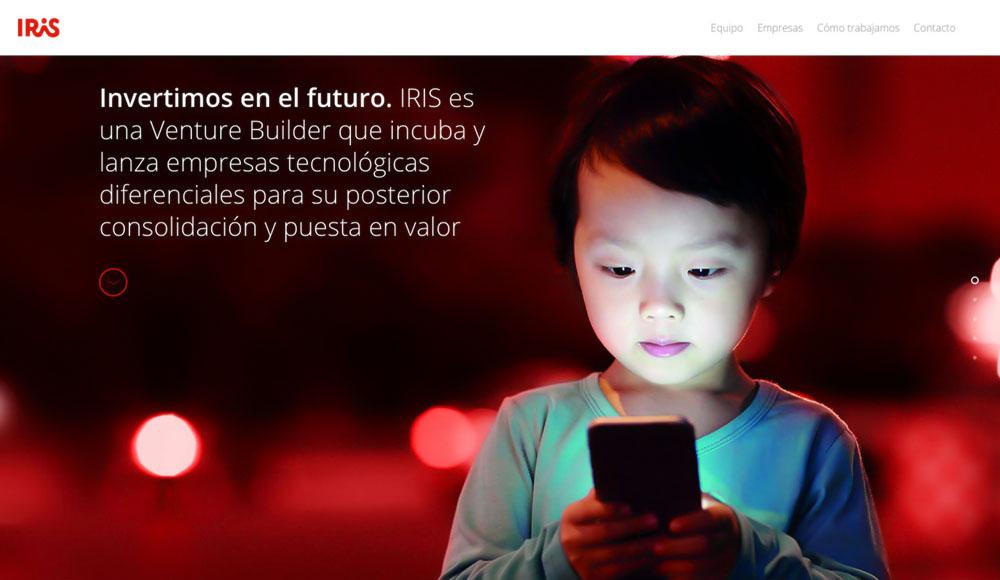 iris web home cover